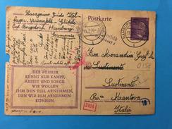 ITALL-LAGER-WIESENFELD GLINDE-HAMBURG-19-2-1944 X  SUSTINENTE-MANTOVA