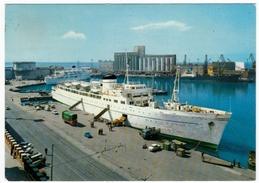 NAVI - BARCHE - CIVITAVECCHIA - IL PORTO - 1971 - Barche