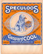 Pub Reclame - Speculoos Gaspard Cool - Dendermondse Steenweg Aalst  - Hond