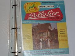 BUVARD  Biscottes PELLETIER   Wissembourg  Alsacien - Biscottes