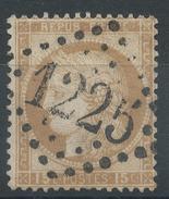 Lot N°35051  N°55, Oblit GC 1225LE CREUZOT (70), Ind 3