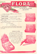 Pub Reclame - Crayons De Couleurs - Kleurpotloden Swan Flora - Publicidad