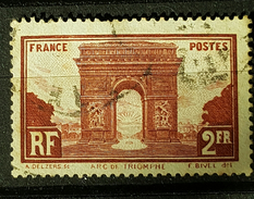YT258 - Arc De Triomphe - 2fr - Oblitéré