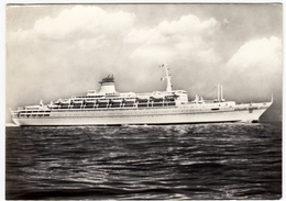 NAVI - BARCHE - LLOYD TRIESTINO - TRIESTE - T/N GUGLIELMO MARCONI - 1965 - Vedi Retro - Barche