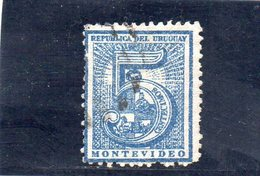 URUGUAY 1872 O