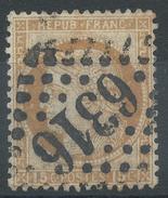 Lot N°35053  Variété/n°55, Oblit GC 6316 LYON-LES-TERREAUX (68), Griffe Avant R De REPUB