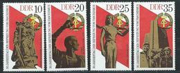 DDR 1975  Mi 2038 - 2041  30. Jahrestag Der Befreiung