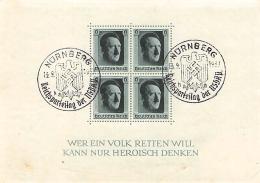MiNr. Block 7 O Deutsches Reich