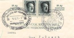 MiNr. 650 O (Paar)  Deutsches Reich