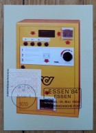 AUTRICHE - Timbre De Distributeur - International Briefmarken Messe - ESSEN - 1984