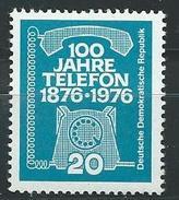 DDR 1976  Mi 2118  100 Jahre Telefon