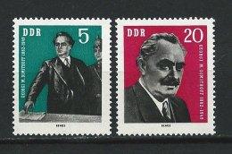 DDR-RDA - N° 609 à 610 - Georgi Dimitrov - **