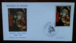 DAHOMEY - FDC 1967 - YT PA N°70 - NOEL / Mathis GRUNEWALD / Tableau - COTONOU