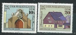 DDR 1975  Mi 2094 - 2095  Tag Der Philatelisten