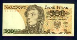 Banconota Polonia 500 Piecset Zlotych FDS - Polonia