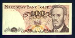 Banconota Polonia 100 ZLOTYCH 1982 FDS - Poland