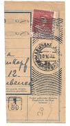 TCHECOSLOVAQUIE OBLITERATION DE MARIENBAD SUR FRAGMENT D'AVIS DU 10/5/1932