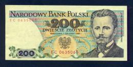 Banconota Polonia 200 ZLOTYCH FDS - Pologne