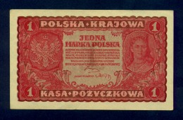 Banconota Polonia 1 MARKA 1919 FDS - Polonia