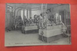 Cp  Marseille Ascenceur De Notre Dame De La Garde La Salle Des Machines N 184