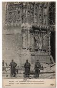 Reims : La Cathédrale Après Le Bombardement (Editeur L. Le Deley, Paris, ELD, 8ème Série) - Reims