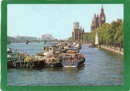 England London The River Thames And Victoria Embankment CPM   état Impeccable