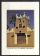 Saudi Arabi, Post Card  Showing  Old  Saudi House , Heritage Site  Publish By Saudi Arabia Info. MNH Original, Photo