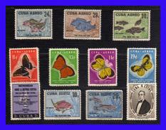 1958 - Cuba - Sc. 608 / 609 - C 185 / C 191 - U. 26 / 27 - MNH - Valor De Catalogo 85 € - CU-35 - 04