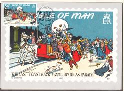 ILE DE MAN -  1990 - Carte Postale Mannoise -  Yvert  430 CARTE MAXIMUM