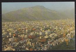 Saudi Arabi, Old  Post Card  Showing  Pilgrimage Leaveing  Arafat  Site  In Hajj Where They Spent One Original, Photo