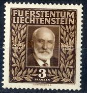 Liechtenstein 1940 N. 166 F, 3 Principe Giovanni II A 88 Anni MLH Cat. € 10 - Liechtenstein