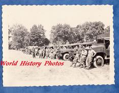 Photo Ancienne - Camp De MAILLY - Convoi Militaire - Camion & Régiment à Identifier - Juillet 1952
