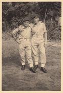 Photo Militaire Para Commando Au Congo Belge Sur Kamina