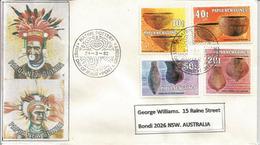 Poteries Et Artisinat De Papouasie, Belle Lettre De Port-Moresby Adressée Australie