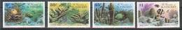 Grenadines Of St.Vincent Fishes,coral Set 4 Stamps  MNH