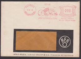 """TAUCHA (Bz. Leipzig) AFS """"AFRO-WERK"""" Pfefferminze & Drops, Kinder Lutschen Süßigkeiten 1931"""