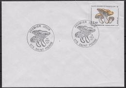 1987 Saint Pierre Et Miquelon N° 475   . FDC  . Flore . Champignon - FDC