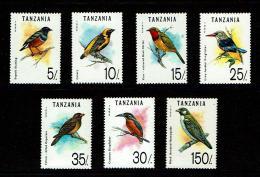 Tanzania 1992 Sc # 978 / 984  MNH **  Birds