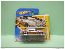 ´81 CHEVROLET CHEVY CAMARO 1981 - 2012 HW PREMIERE - HOTWHEELS Hot Wheels Mattel 1/64 EU Blister - HotWheels