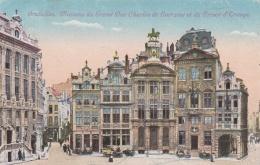 German Occupied Belgium - Postcard Bruxelles Posted Vilvoo****** 9.9.1918 - Faint Censor Cachet   (T8A18)