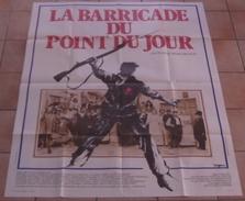 AFFICHE CINEMA ORIGINALE FILM LA BARRICADE DU POINT DU JOUR René RICHON NOIRET DELORME TRAMBOUZE COMMUNE PARIS 1978 TBE - Manifesti & Poster