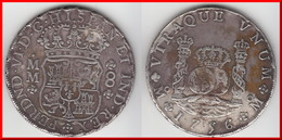 **** MEXIQUE - MEXICO - 8 REALES 1756 MM FERDINAND VI - ARGENT - SILVER **** EN ACHAT IMMEDIAT ! - Mexico