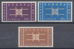 Zypern, MiNr. 225-227, Postfrisch / MNH