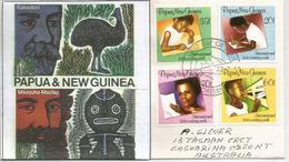 Semaine De La Lettre écrite, Belle Lettre De Port-Moresby,Papouasie, Adressée Australie