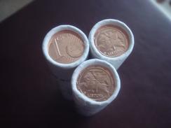 2016 Lithuania Litauen 1 Euro - Cent - 1 Rolle -  Münzen 2016 !!!  MINT ROLL UNC  !!!!!!!! - Rollos