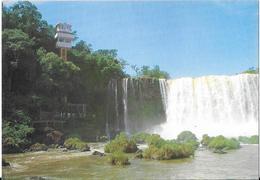FOZ DO IGUAÇO - View Of The Elevator And Floriano Fall - Salvador De Bahia