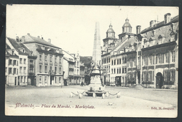 +++ CPA - MALMEDY - Place Du Marché  //