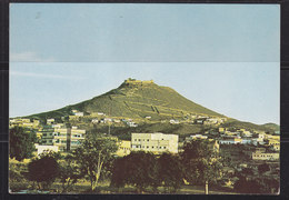 Saudi Arabia,Post Card  Showing Old Town Abha City South Saudi Arabia And Old OTTOMAN CASTLE  VERY  RARE  Original Photo