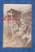 Photo Ancienne - Sur Le Front - Portrait De Poilu Du 19e Régiment - WW1 Tranchée Trench Soldat Soldier