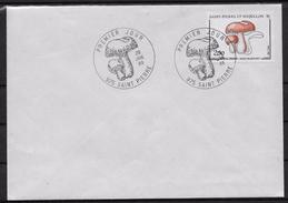 1988 Saint Pierre Et Miquelon N° 486 . FDC  . Flore  Champignon. - FDC